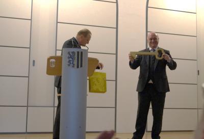 Hans-Erlwein-Gymnasium Dresden - Feierliche Einweihung