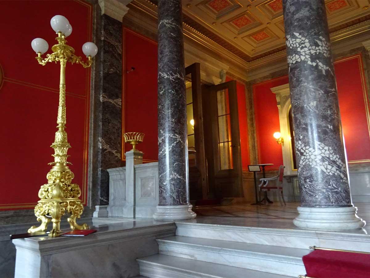 Schloss Albrechtsberg Säulen
