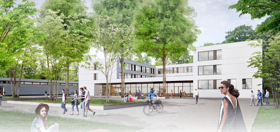 Sanierung udn Ersatzneubau Bertolt-Brecht-Gymnasium Dresden