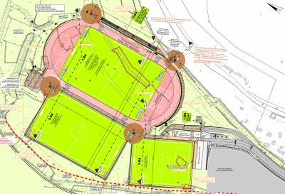 Plangebiet Sport- und Freizeitzentrum Aue - hpm henkel Projektmanagement