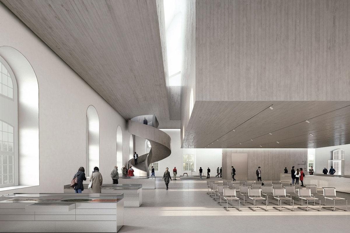 Nieto Sobjeno Arquitectos: Entwurf Innenansicht