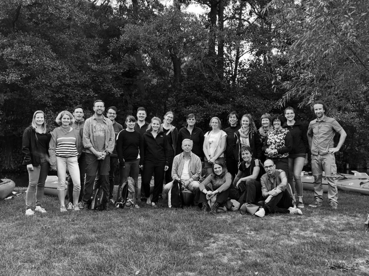 Team hpm Wandertag 2018 Spreewald