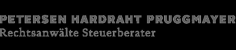 Logo PHP PETERSEN HARDRAHT PRUGGMAYER Rechtsanwälte Steuerberater