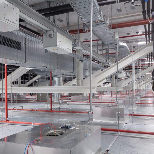 B. Braun Filterfabrik Innenansicht