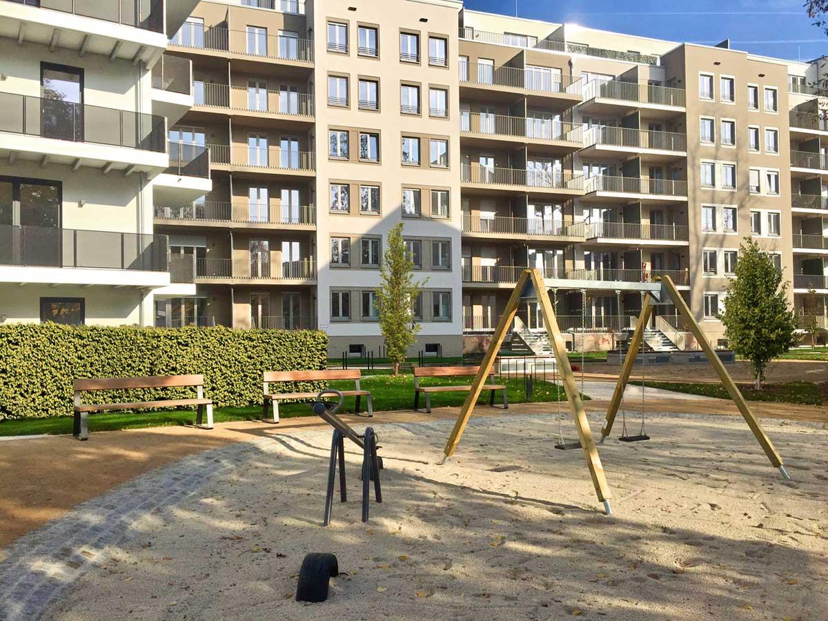 Moderne Wohnungen an der Schweriner Straße - hpm Henkel Projektmanagement