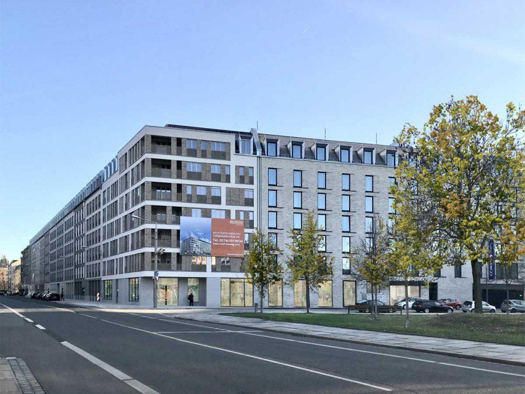 Quartier am Wettiner Platz - hpm Henkel Projektmanagement