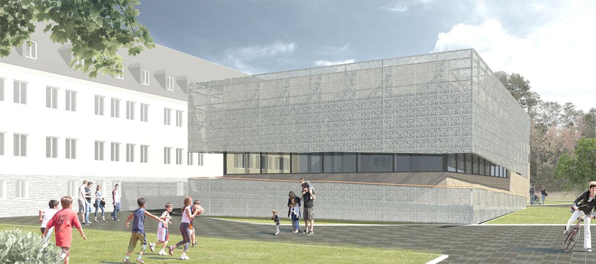 Neubau Lehrschwimm- und Therapiebecken Flöha