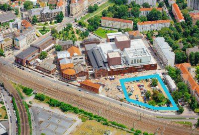 Kraftwerk Mitte Lageplan Neubau
