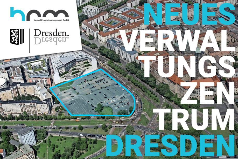 Neues Verwaltungszentrum am Ferdinandplatz Dresden