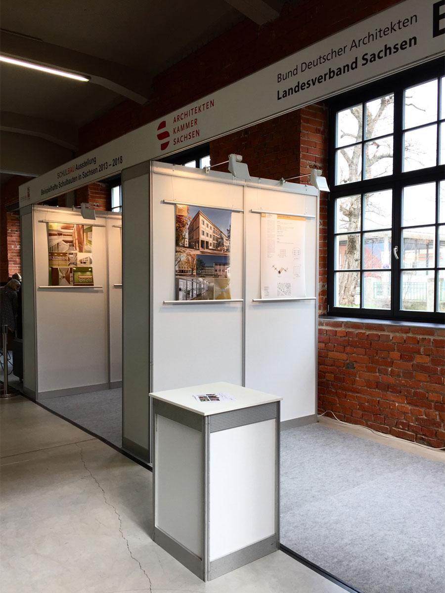 Schulbau-Messe Ausstellung