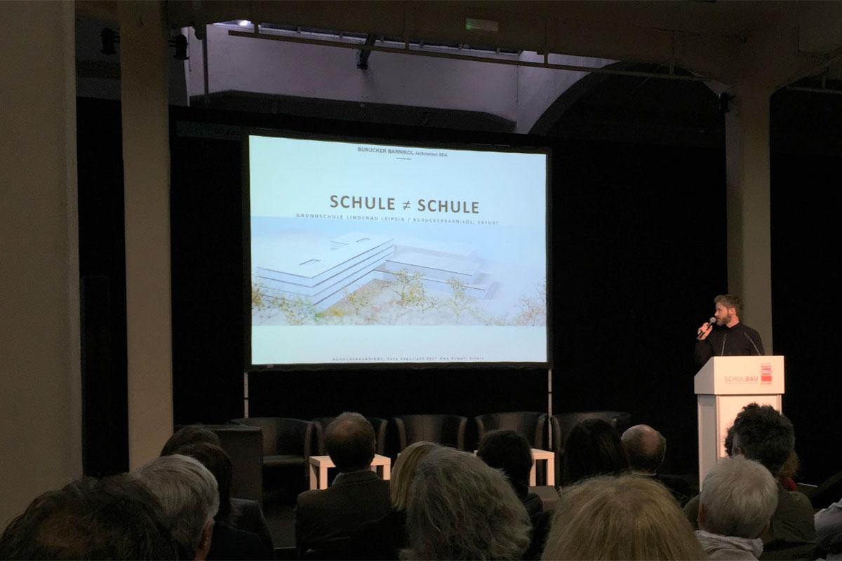 Schulbau-Messe Vortrag