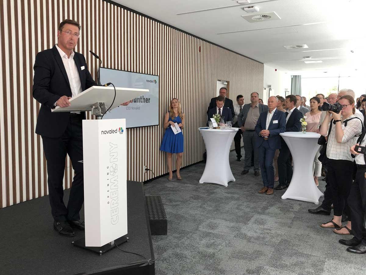 Novaled-Geschäftsführer Gerd Günther