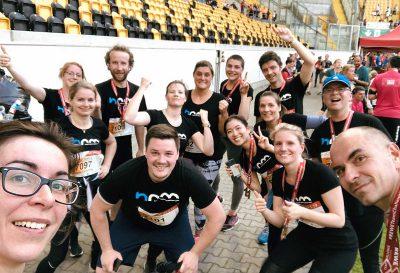 hpm Henkel Projektmanagement GmbH bei der REWE Team Challenge 2019 in Dresden