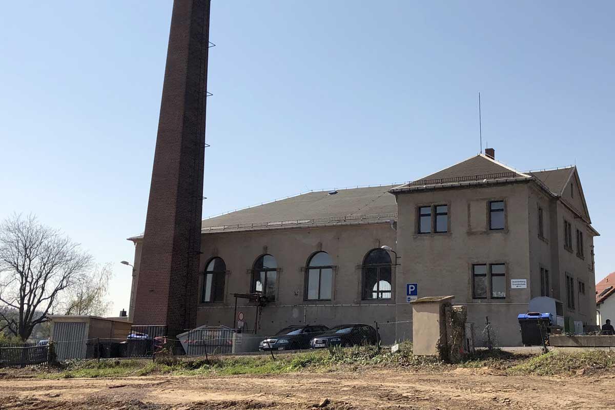 aktueller Zustand der Questenberg-Grundschule, Foto: hpm