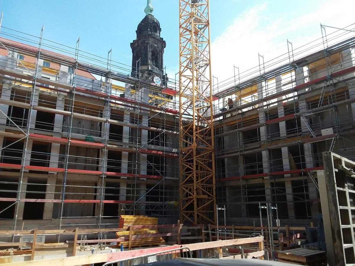 Wohnquartier am Altmarkt, Innenansicht, Foto: hpm