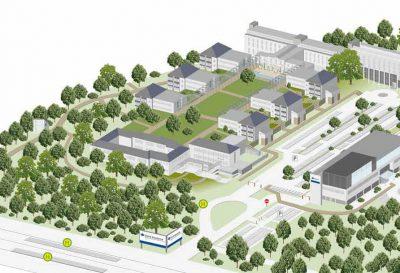 Lageplan der DGUV-Akademie Dresden, Quelle: IAG