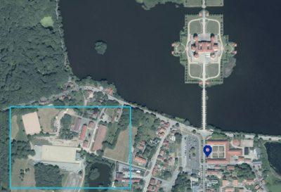Lageplan Landgestüt Moritzburg