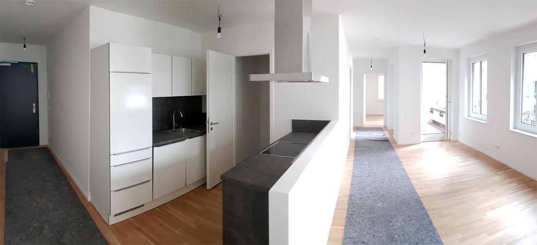 Musterwohnung der BMO Real Estate Partners Deutschland, Foto: hpm