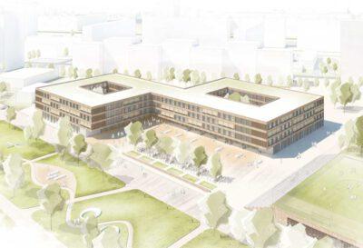 Siegerentwurf Objektplanung Gebäude, Innenräume und Freianlagen der wörner traxler richter planungsgesellschaft mbH